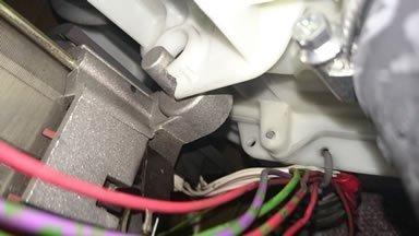 motor bracket broken off
