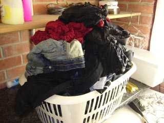 8 Kg of laundry
